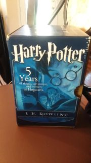 Harry Potter Books 1 to 5