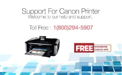 Canon Printer Support Toll-free 1-800-294-5907