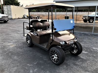 2013 E-Z-Go Txt Golf Cart (Brown Or Taupe)