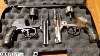 For Sale: Iver johnson safety automatic revolvers