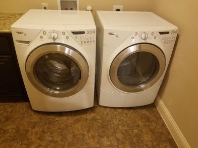 Whirlpool washer & dryer