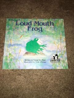 Loud mouth frog