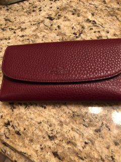 COACH wallet w/ removable checkbook