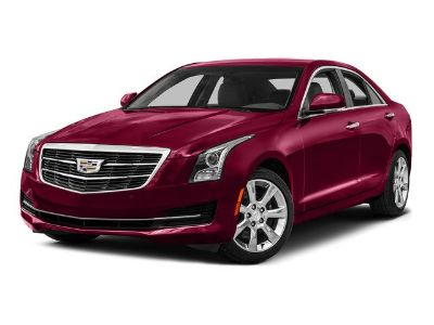 2016 Cadillac ATS Sedan Performance Collection AWD (Crystal White Tricoat)