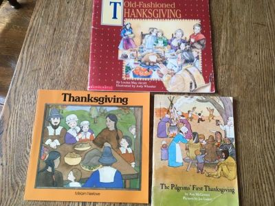 Great set of learning books for Thanksgiving