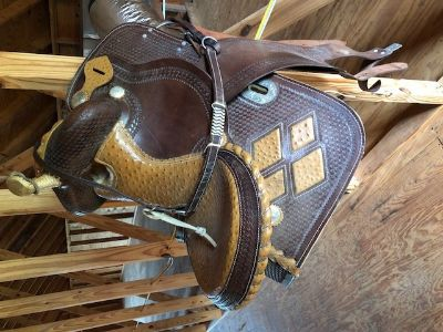 Saddle, riding