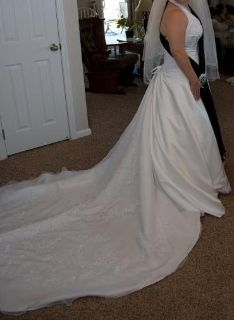 Are you looking to be the spotlight in the season for love this summer with a one of a kind gown? Wedding dress custom made Da Vinci brand.