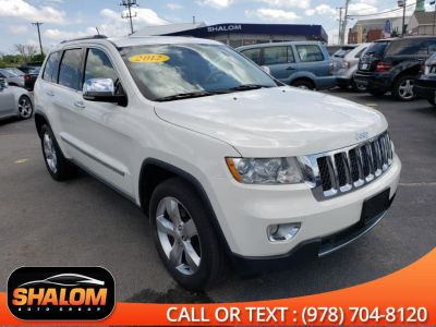 2012 Jeep Grand Cherokee Overland (Stone White)