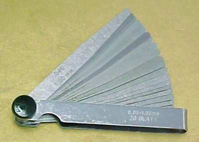 Sell Horex Germany 20 Blade Feeler Gauge Set motorcycle in Carthage, Tennessee, US, for US $14.99