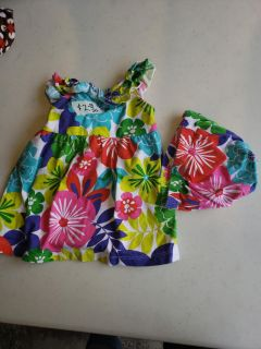 Carter's 6 month dress with diaper cover