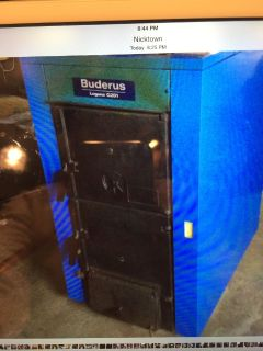Buderus G201 Hard Coal/Wood Boiler Furnace