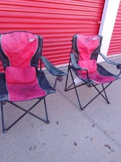 2 Coleman Camping Chairs