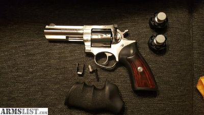 For Sale: Ruger GP100 4inch Stainless