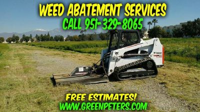 Weed Abatement Services in Moreno Valley