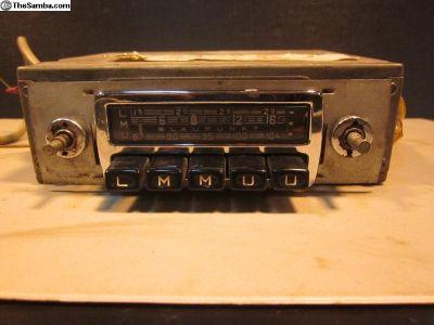 1964/65 Blaupunkt Frankfurt European Radio 6v 12v