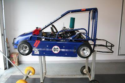 Demon Jr Champ Racing Go Kart