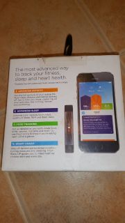 Fitness Tracker/Heart Rate Monitor and more Jawbone UP3 Thin Style Bracelet New in Box only 1 left