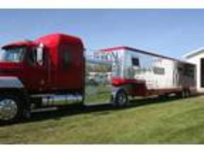 1993 Mack non CDL truck with Race Car or Horse Trailer