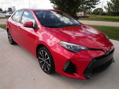 2017 Toyota Corolla L (Barcelona Red Metallic)