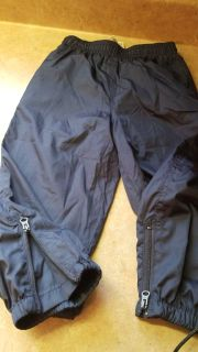 2T rain pants with lining