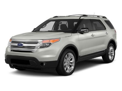 2014 Ford Explorer XLT (Red)