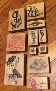 11 nautical themed stamps