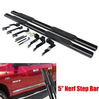 Sell 5'' Nerf Bars 09-15 DODGE RAM Crew Cab 1500/2500/3500 Side Step Nurf Bar Black motorcycle in Rosemead, California, United States