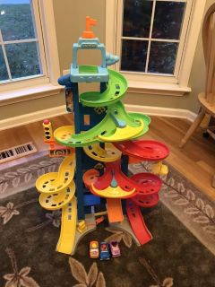 Fisher Price Little People Car Tower