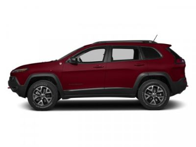 2014 Jeep Cherokee Trailhawk (Deep Cherry Red Crystal Pearlcoat)