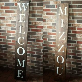 5 ft Reversible Welcome Signs *Personalize*