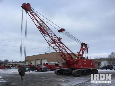 2008 Manitowoc 10000 Lattice-Boom Crawler Crane