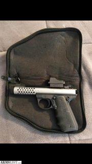 For Sale: Ruger 22/45 Cobalt Lite
