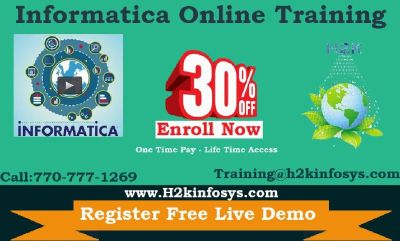 Informatica Online Training Classes and Placement Assistance
