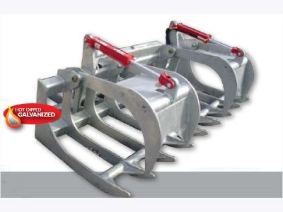 2015 Modern Ag Products 66 in. and 72 in. Heavy Duty Universal Quick Attach Root Grapple