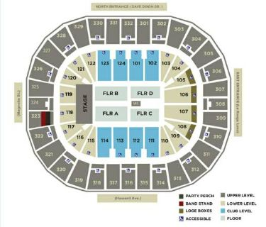 6 Eagles Tickets  New Orleans Arena