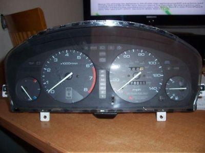Find HONDA ACCORD GAUGE INSTRUMENT CLUSTER AUTO 94 97 ABS BRAKES 268556 miles motorcycle in San Jacinto, California, US, for US $44.95