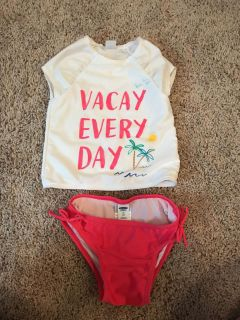 Old Navy Two Piece Bathing Suit 2T