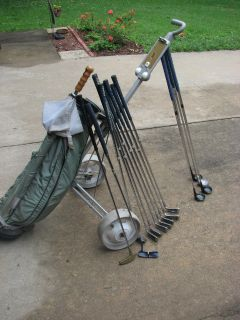 RAM-Golden Girl Irons/Woods/Putters/Bag/Cart/Umbrella