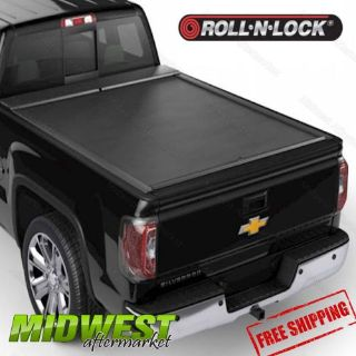 "Purchase Roll N Lock M-Series Black Tonneau Cover For 1999-07 GM Silverado Sierra 6'6"" motorcycle in Litchfield, Illinois, United States, for US $1,215.00"