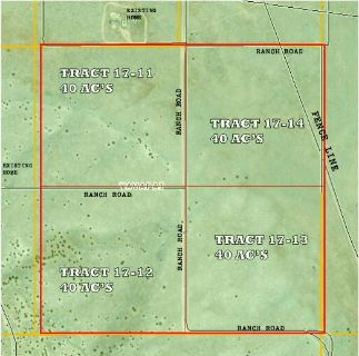 $17,900, 40 acre tracts - only $242month terms - Mtn Views - Rangeland
