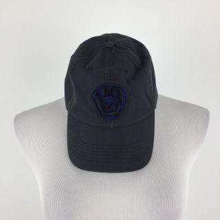 MLB BREWERS weathered vintage inspired baseball hat