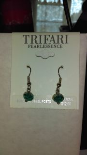 Rondell beaded earrings