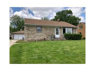 3 Bed 1 Bath Foreclosure Property in Menomonee Falls, WI 53051 - N9005 Madison Avenue