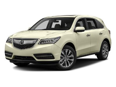 2016 Acura MDX Base w/Tech (White Diamond Pearl)
