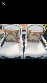 Antique shabby chairs