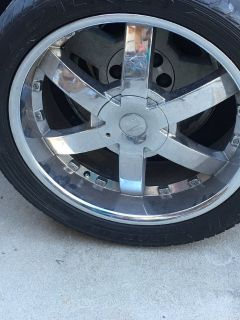 22' Tires and Rims