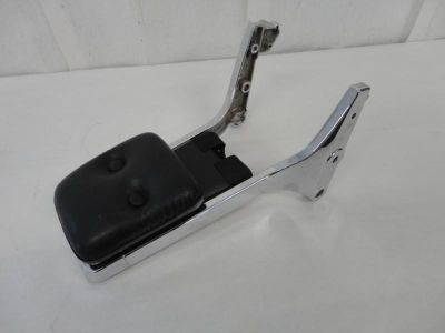 Purchase 1986-2010 Suzuki VS800 Chrome Sissy Bar & Back Rest w/ Pad & Helmet Lock 3153 motorcycle in Kittanning, Pennsylvania, US, for US $9.99