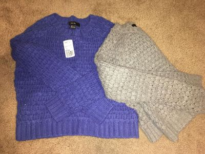 Forever 21 knit sweaters NWT LOT