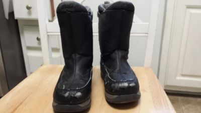 Snow boots, Lands End youth 1