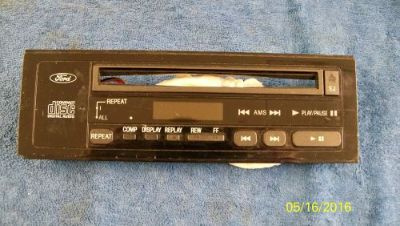 Purchase Ford Lincoln Mercury Face Plate Trim Bezel 1987 1988 1989 Single CD Player motorcycle in Portland, Oregon, United States, for US $29.95